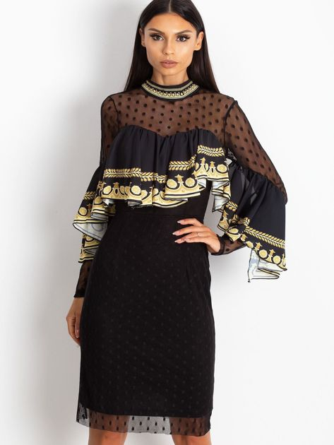 Czarna sukienka Clair                              zdj.                              1