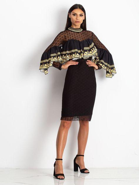 Czarna sukienka Clair                              zdj.                              5