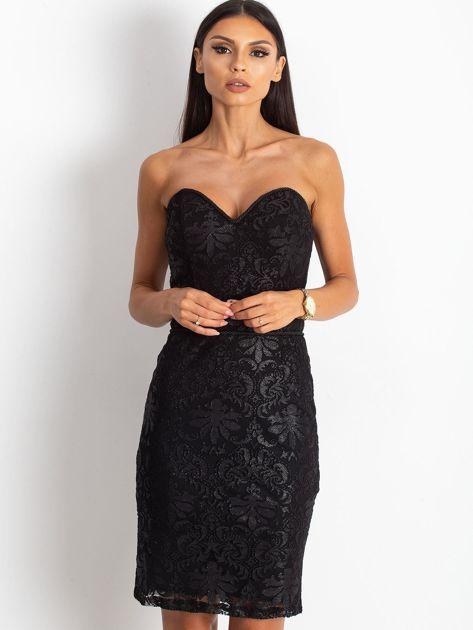 Czarna sukienka Diamond                              zdj.                              1