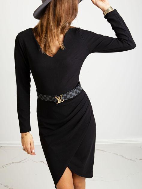 Czarna sukienka Fireside                              zdj.                              5