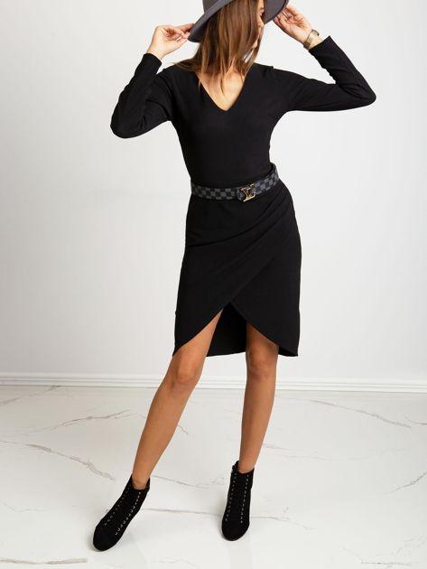 Czarna sukienka Fireside                              zdj.                              4