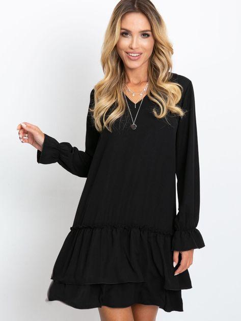 Czarna sukienka Gemma                              zdj.                              1