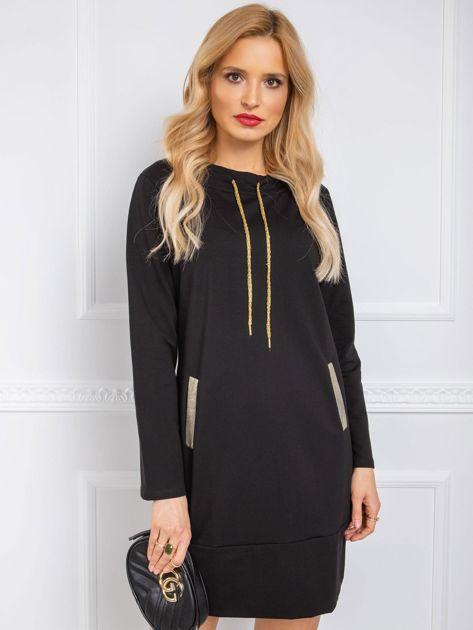 Czarna sukienka Julianna RUE PARIS