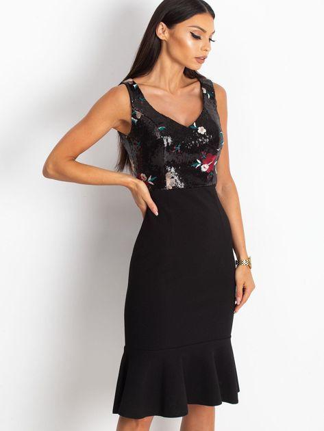 Czarna sukienka Magic                              zdj.                              3