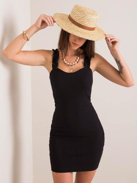 Czarna sukienka Majorca RUE PARIS