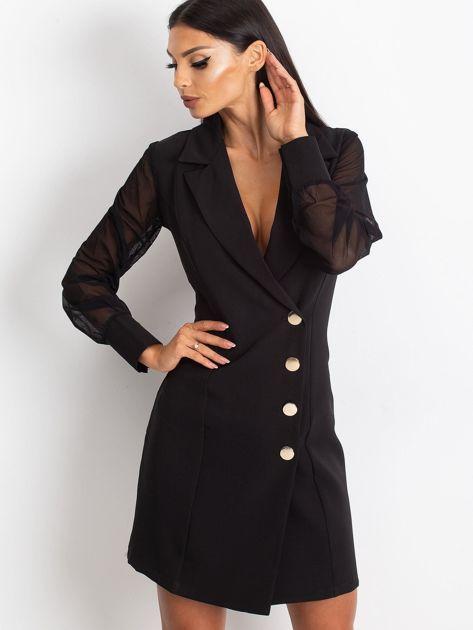 Czarna sukienka Master                              zdj.                              1