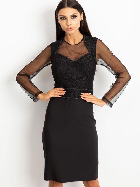 Czarna sukienka Moment                              zdj.                              1