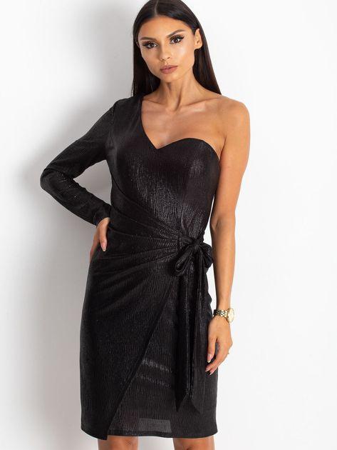 Czarna sukienka Party                              zdj.                              1