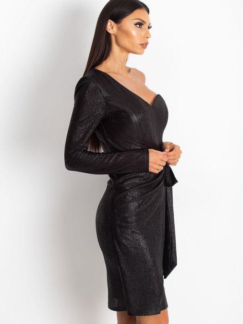 Czarna sukienka Party                              zdj.                              3
