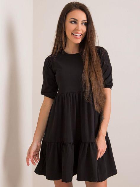 Czarna sukienka Perla RUE PARIS