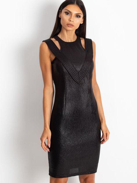 Czarna sukienka Piano                              zdj.                              1