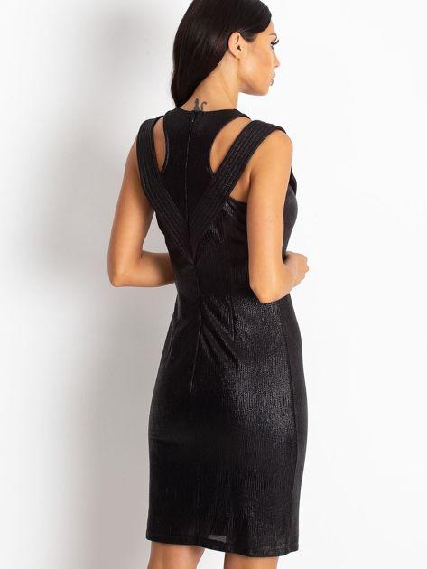 Czarna sukienka Piano                              zdj.                              2