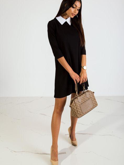 Czarna sukienka Poppy                              zdj.                              4