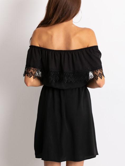Czarna sukienka Serenity                              zdj.                              2