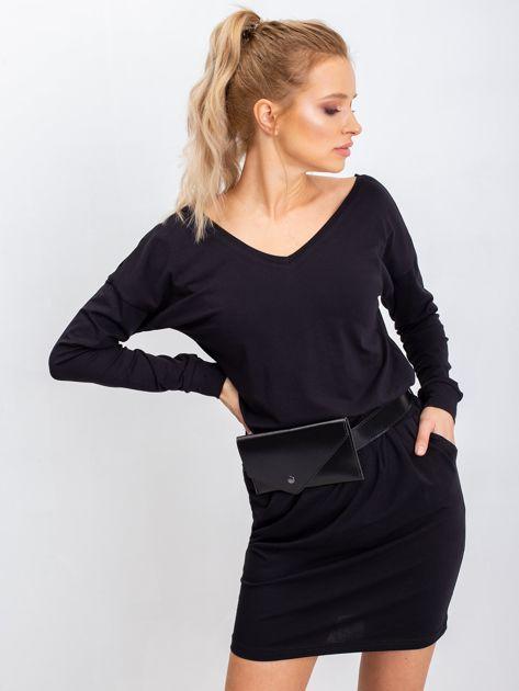 Czarna sukienka Simple                              zdj.                              2