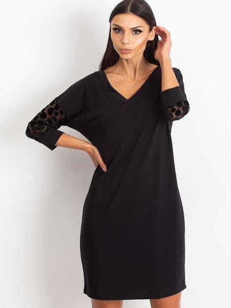 Czarna sukienka Stream                              zdj.                              1