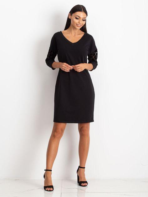 Czarna sukienka Stream                              zdj.                              4
