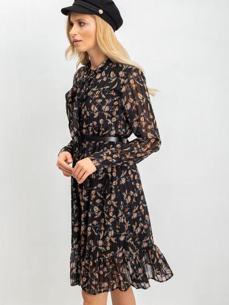 Czarna sukienka Tease                              zdj.                              7