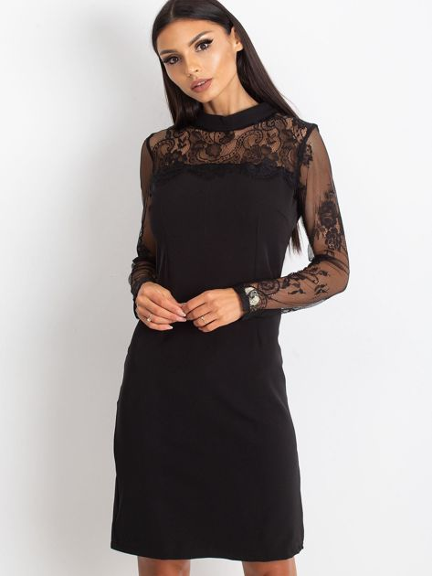 Czarna sukienka Time                              zdj.                              5