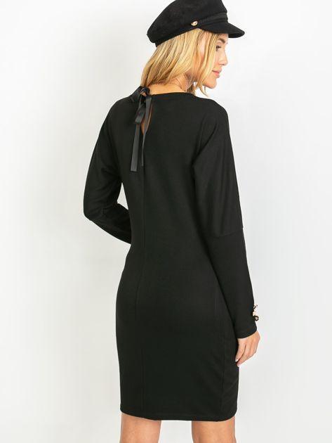 Czarna sukienka Vendetta                              zdj.                              2