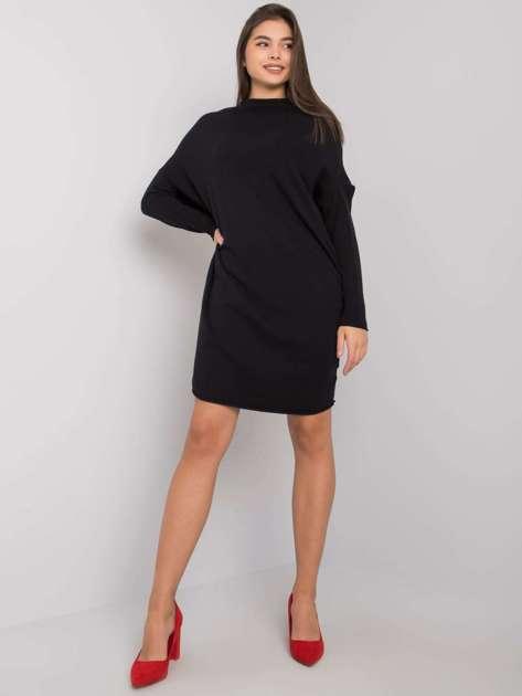 Czarna sukienka dzianinowa Lisle OCH BELLA