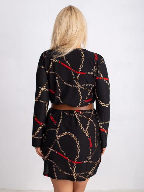 Czarna sukienka plus size Sunny                              zdj.                              2