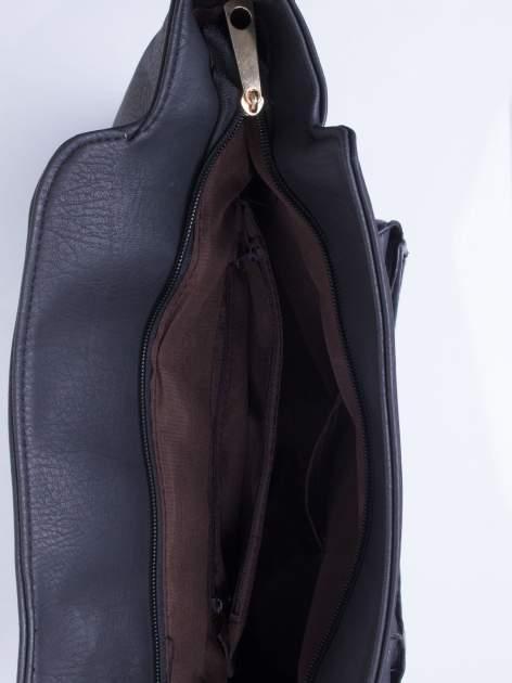 Czarna torba shopper bag                                  zdj.                                  5