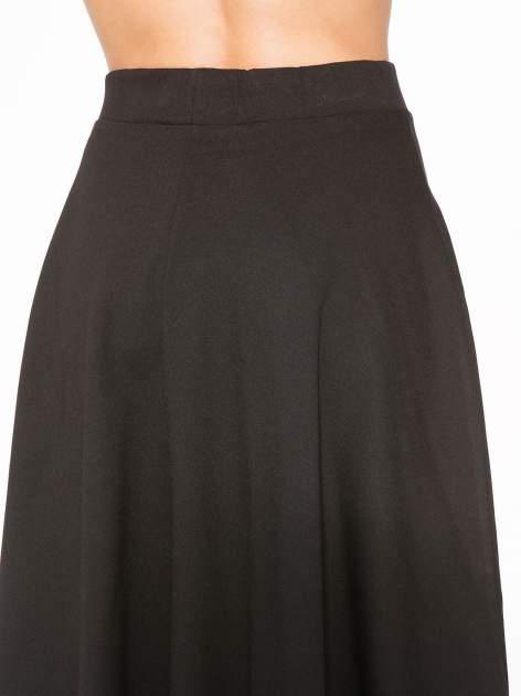 Czarna zwiewna spódnica midi                                  zdj.                                  7