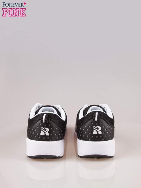 Czarne buty sportowe New York z siateczką i poduszką powietrzną w podeszwie                                  zdj.                                  3