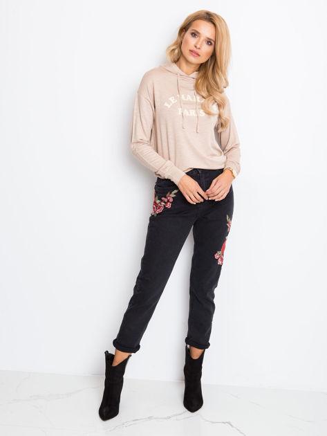 Czarne jeansy Shannie                              zdj.                              4