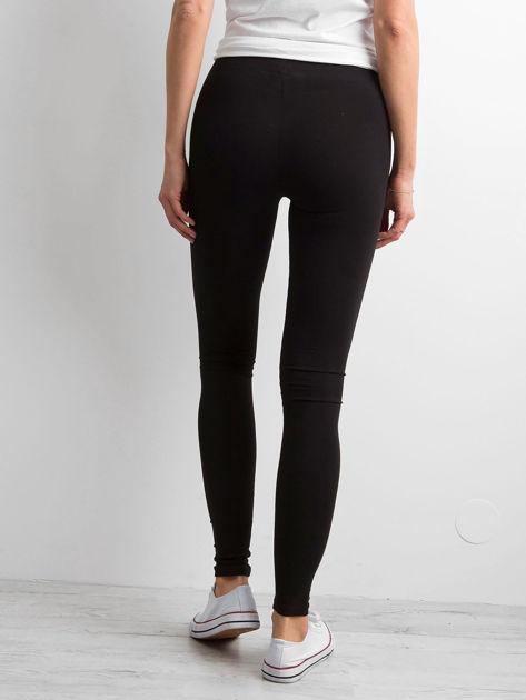 Czarne legginsy Basic                              zdj.                              2