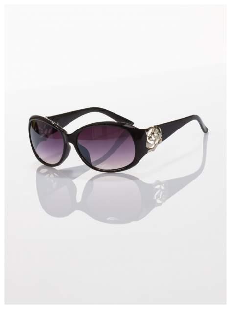 Czarne piękne okulary przeciwsłoneczne dla kobiet -KLASYKA