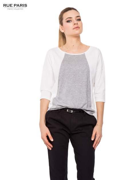 Czarne proste spodnie z paskiem                                  zdj.                                  5