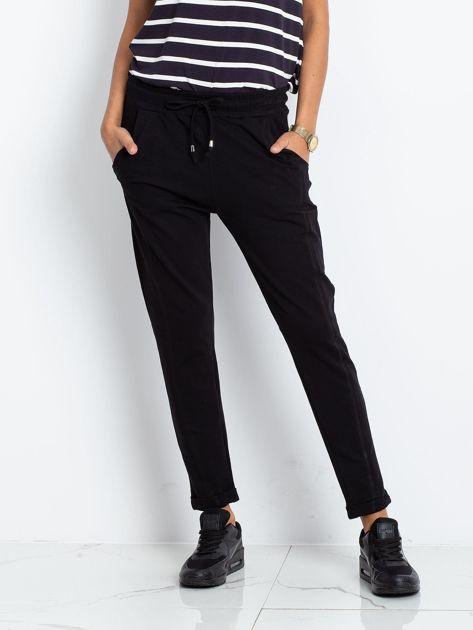 Czarne spodnie Approachable                              zdj.                              1