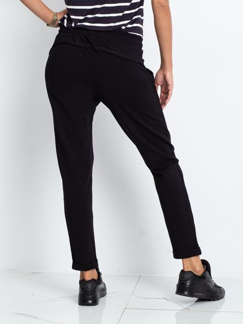 Czarne spodnie Approachable                              zdj.                              2