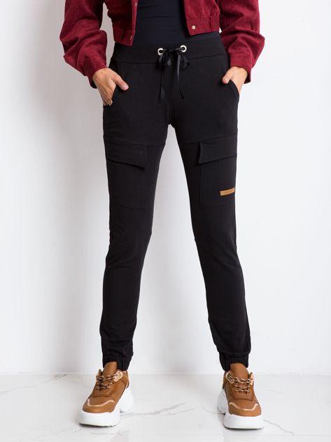 Czarne spodnie Attention                              zdj.                              1