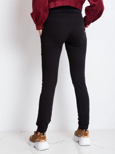 Czarne spodnie Attention                              zdj.                              2