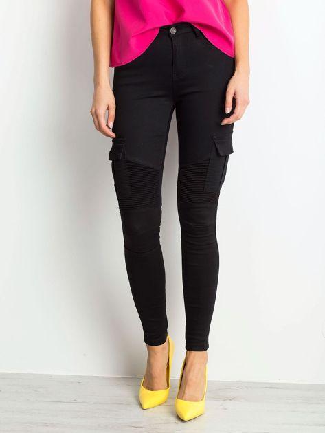 Czarne spodnie Hello                              zdj.                              1