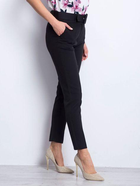 Czarne spodnie Invitation                              zdj.                              3