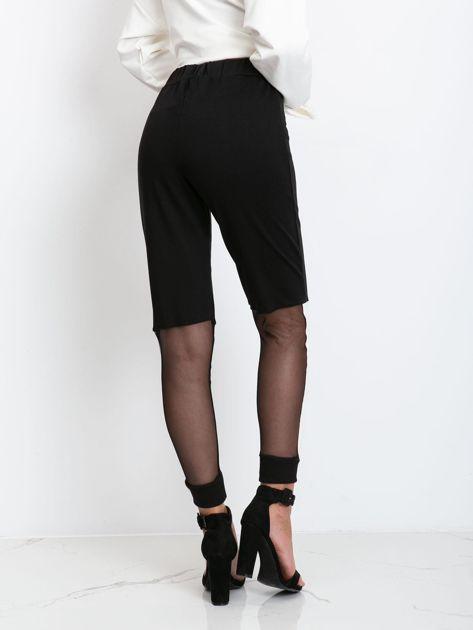 Czarne spodnie Melody                              zdj.                              2