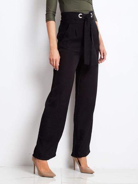 Czarne spodnie Swinging                              zdj.                              3