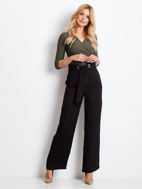Czarne spodnie Swinging                              zdj.                              4