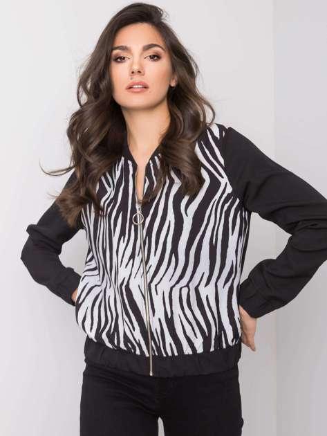 Czarno-biała bluza Cashmere RUE PARIS
