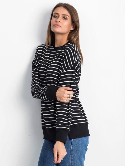Czarno-biała bluza Continuously                              zdj.                              3