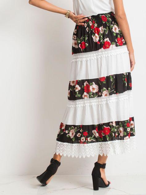 Czarno-biała spódnica Breakout                              zdj.                              2
