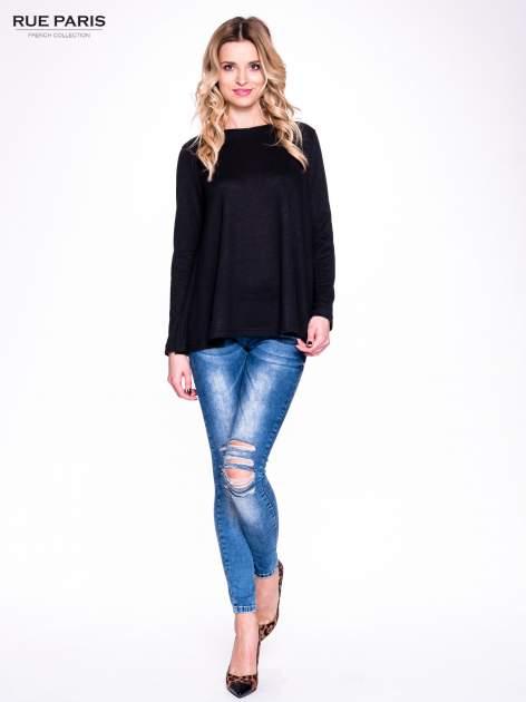 Czarny klasyczny sweterek                                  zdj.                                  2