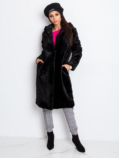 Czarny płaszcz Mallory                              zdj.                              5