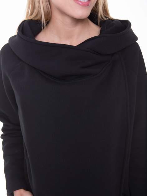 Czarny płaszcz dresowy                                  zdj.                                  7