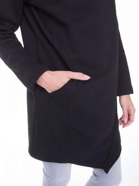 Czarny płaszcz dresowy                                  zdj.                                  8