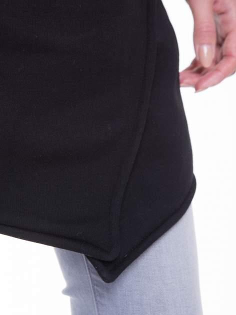 Czarny płaszcz dresowy                                  zdj.                                  9